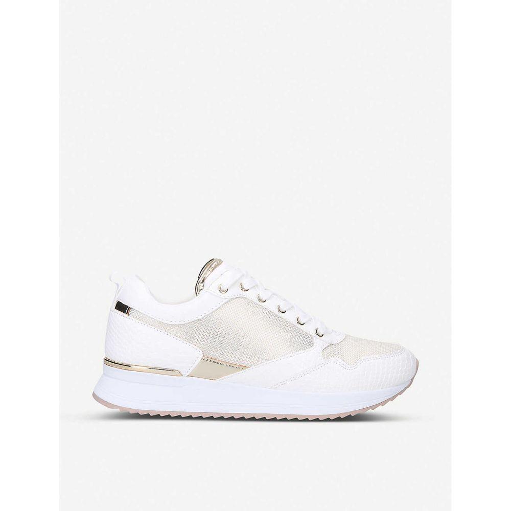アルド ALDO レディース スニーカー シューズ・靴【Genica panelled mesh trainers】WHITE