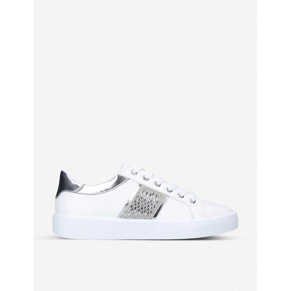アルド ALDO レディース スニーカー シューズ・靴【Pernille faux-leather trainers】WHITE