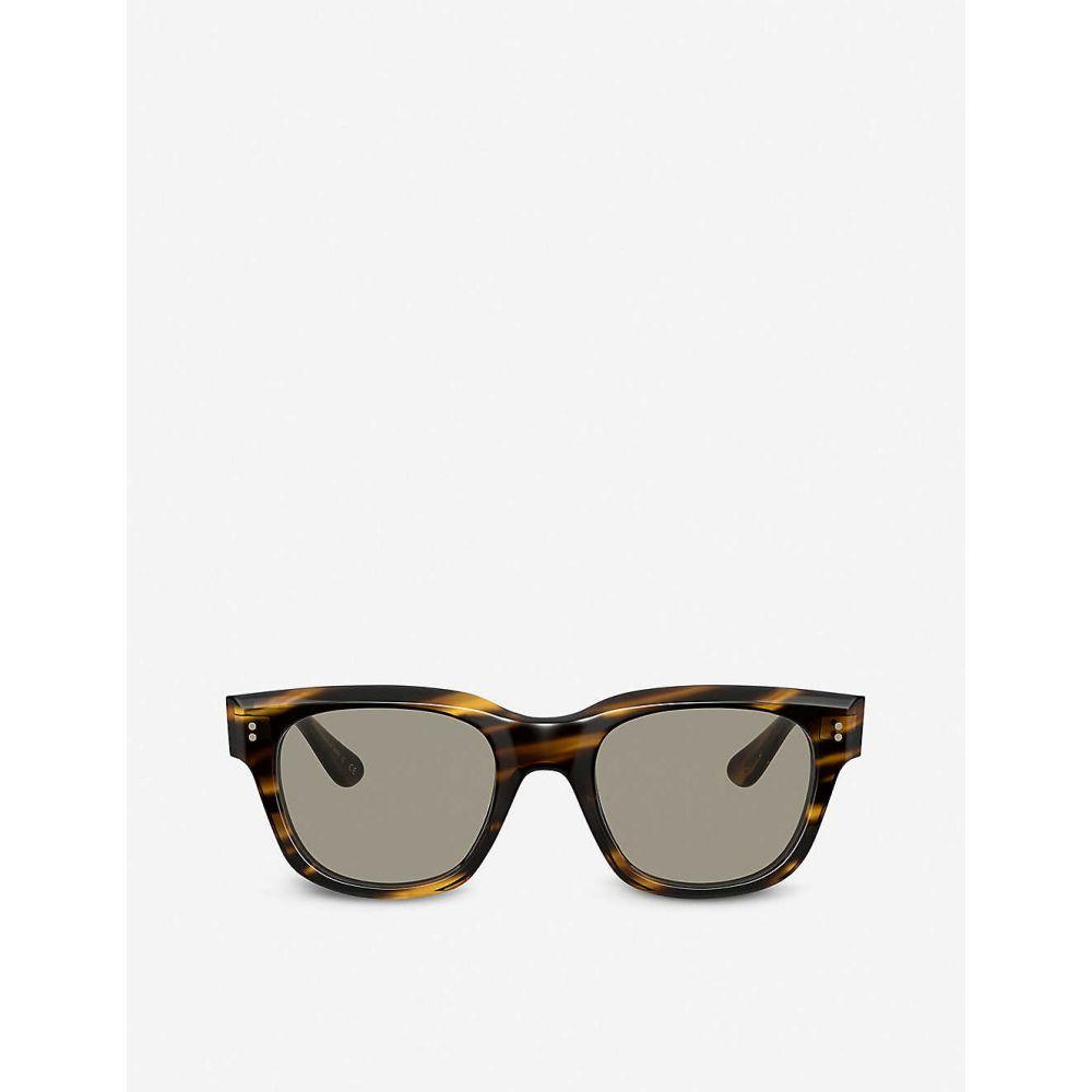 オリバーピープルズ OLIVER PEOPLES レディース メガネ・サングラス スクエアフレーム【OV5433U Shiller acetate square-frame sunglasses】BROWN