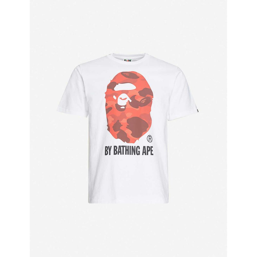 ア ベイシング エイプ A BATHING APE メンズ Tシャツ トップス【Camo-print cotton-jersey T-shirt】WHXRD