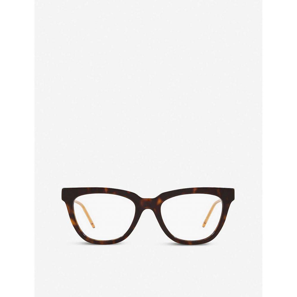 【人気急上昇】 グッチ GUCCI レディース メガネ・サングラス 【GG0601O cat-eye glasses】BROWN, プラチナSHOP 0b5d8187