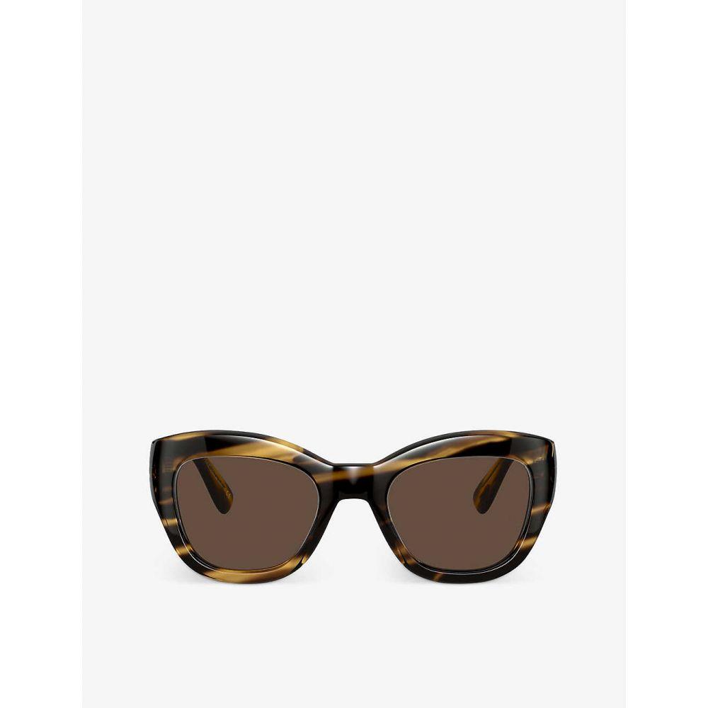 【お気にいる】 オリバーピープルズ OLIVER PEOPLES レディース メガネ・サングラス 【OV5430SU 51 Lalit acetate cateye sunglasses】BROWN, PRO-SHOP YASUKICHI 6c8b3afd