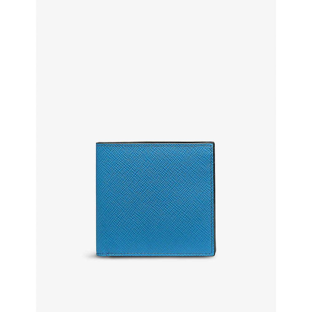 史上一番安い スマイソン SMYTHSON メンズ 財布 【Panama eight-card leather wallet】AZURE, ONE'S FORTE GP 57a11221