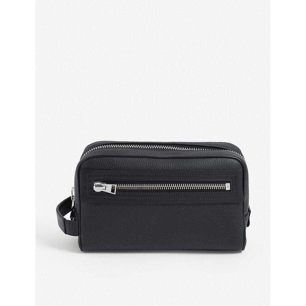 【爆買い!】 トム フォード TOM FORD フォード washbag】BLACK メンズ ポーチ トラベルポーチ【Classic branded TOM leather washbag】BLACK, シマジリグン:7a1ace3a --- adaclinik.com