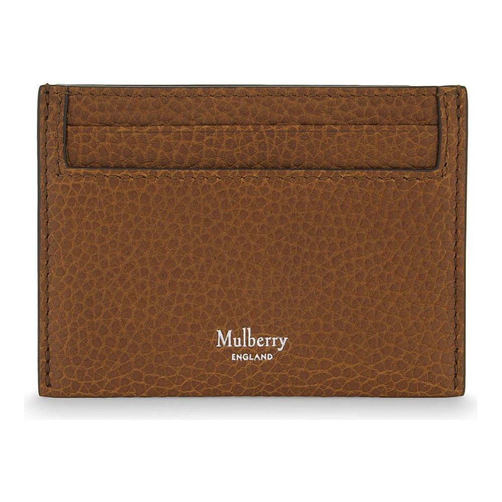 マルベリー mulberry メンズ アクセサリー カードケース【grained leather card holder】Oak
