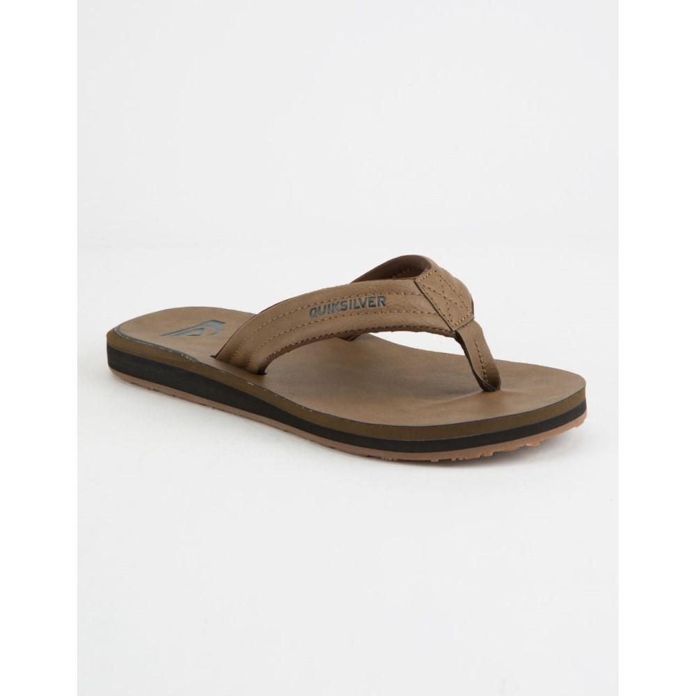 クイックシルバー メンズ シューズ・靴 サンダル【Carver Nubuck Sandals】TAN
