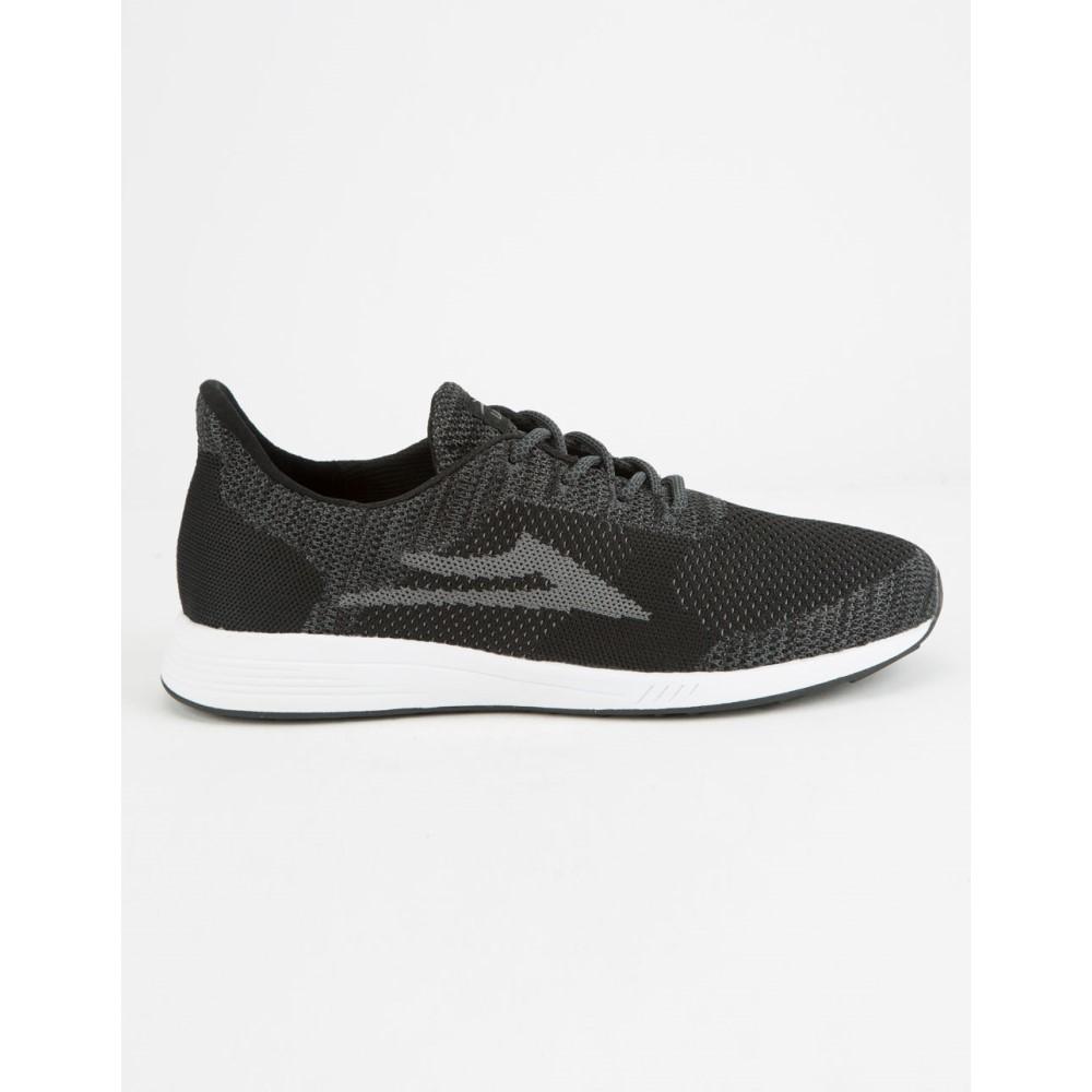 ラカイ メンズ シューズ・靴 スニーカー【Evo Black & Grey Knit Shoes】BLACK/GREY
