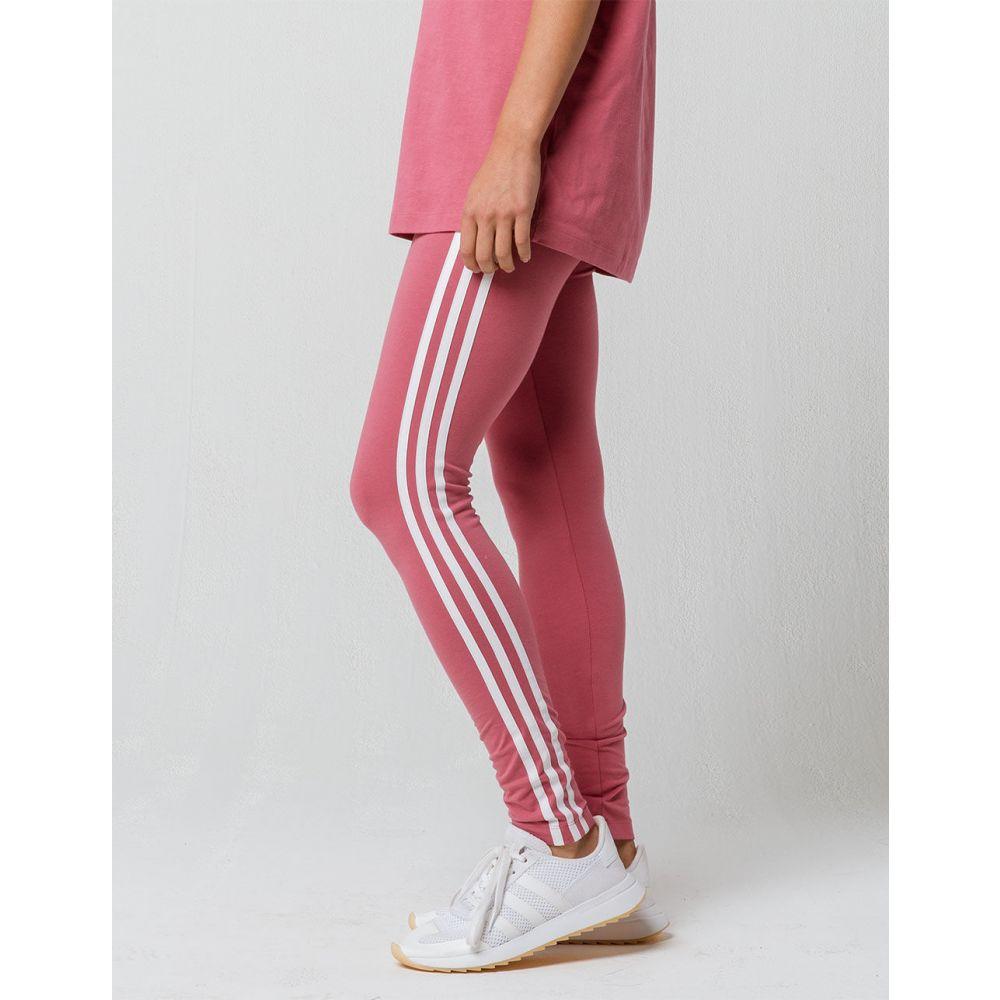アディダス ADIDAS レディース インナー・下着 スパッツ・レギンス【3 Stripes Pink s Leggings】Pink