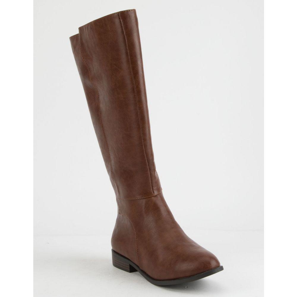 シティ クラシファイド CITY CLASSIFIED レディース シューズ・靴 ブーツ【Clean s Riding Boots】Cognac