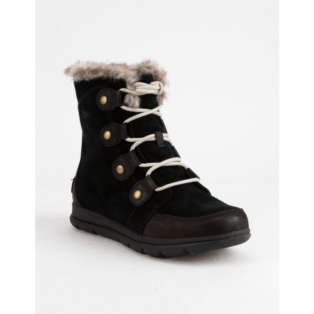 ソレル SOREL レディース シューズ・靴 ブーツ【Explorer Joan s Boots】Black