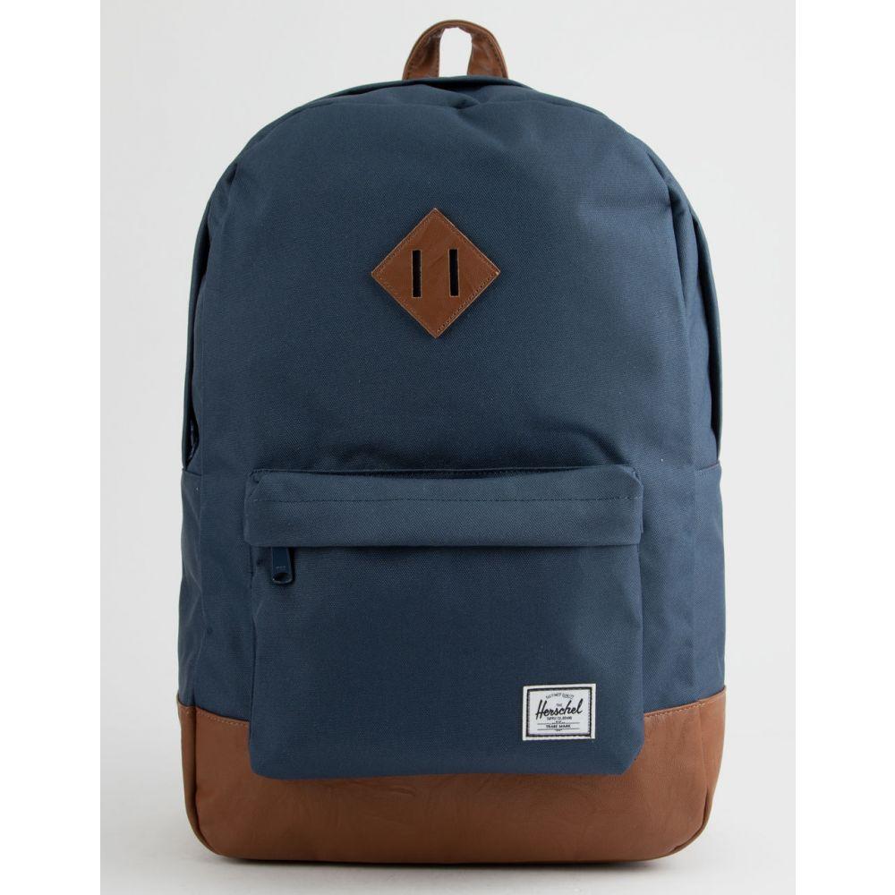 ハーシェル サプライ HERSCHEL SUPPLY CO. レディース バッグ バックパック・リュック【Heritage Peacoat & Tan Backpack】Peacoat/Tan