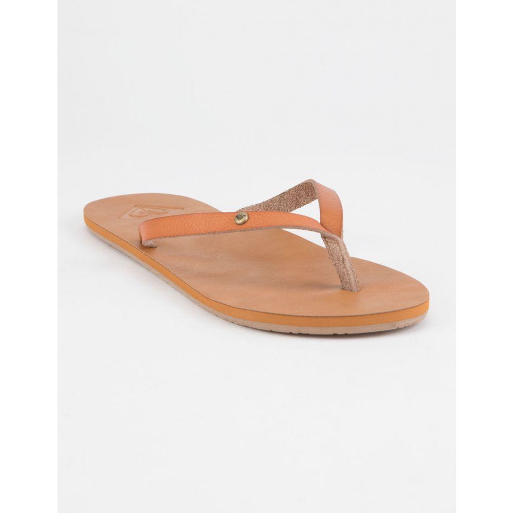 ロキシー ROXY レディース シューズ・靴 ビーチサンダル【Jyll II Tan s Sandals】Tan