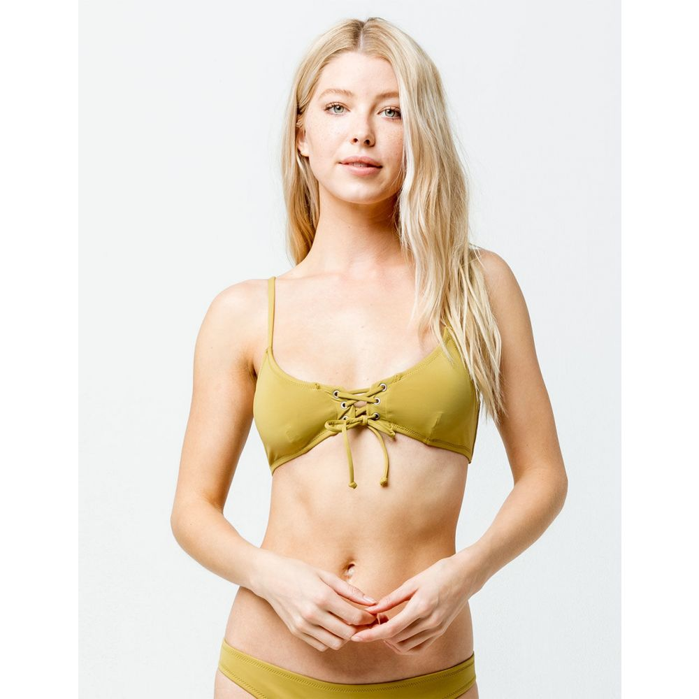 リズム RHYTHM レディース 水着・ビーチウェア トップのみ【Sun Chaser Bikini Top】LIGHT GREEN