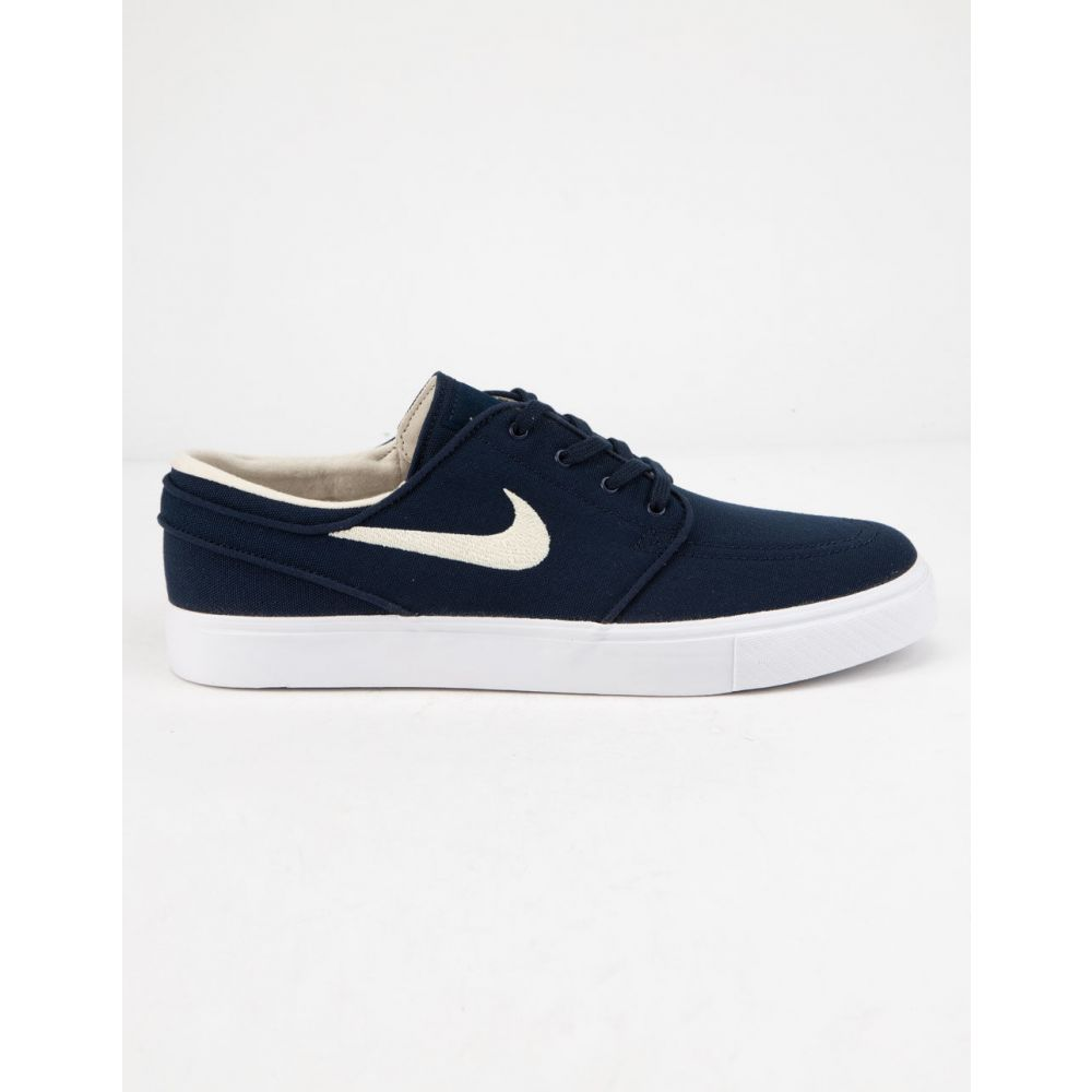 ナイキ NIKE SB メンズ シューズ・靴 スニーカー【Zoom Stefan Janoski Canvas Obsidian & Light Cream Shoes】OBSIDIAN/LIGHT CREAM