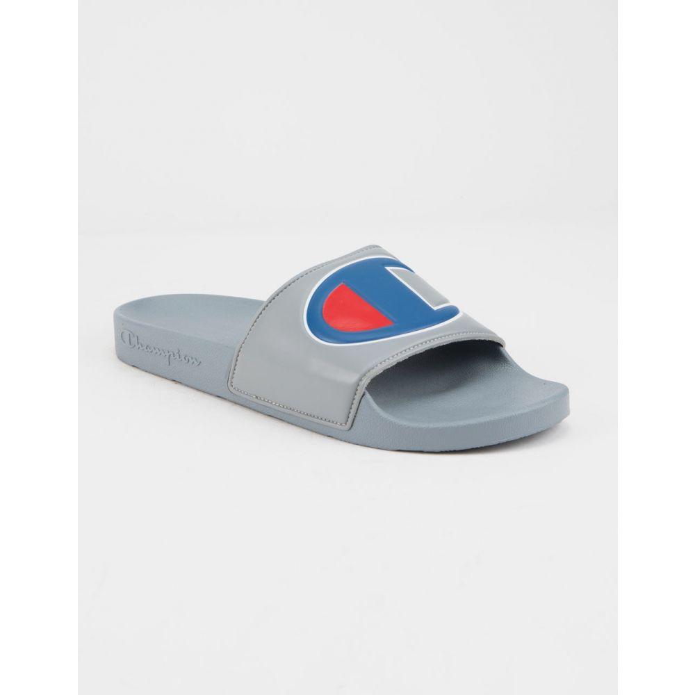チャンピオン CHAMPION メンズ Gray シューズ・靴 サンダル【IPO Gray Sandals CHAMPION】GRAY, ツワノチョウ:6a4fc472 --- sunward.msk.ru