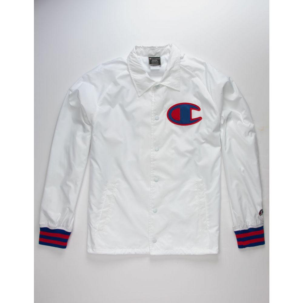 チャンピオン CHAMPION メンズ アウター ジャケット【White Coach Jacket】WHITE