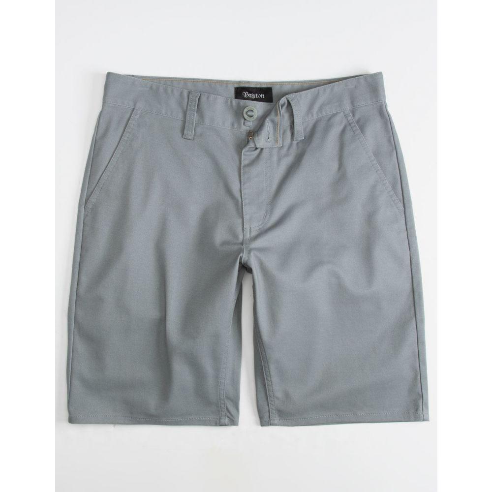 ブリクストン BRIXTON メンズ ボトムス・パンツ ショートパンツ【Toil II Chino Shorts】GRAY