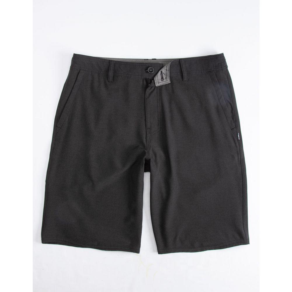 オニール O'NEILL メンズ ボトムス・パンツ ショートパンツ【Reserve Heather Black Hybrid Shorts】HEATHER BLACK
