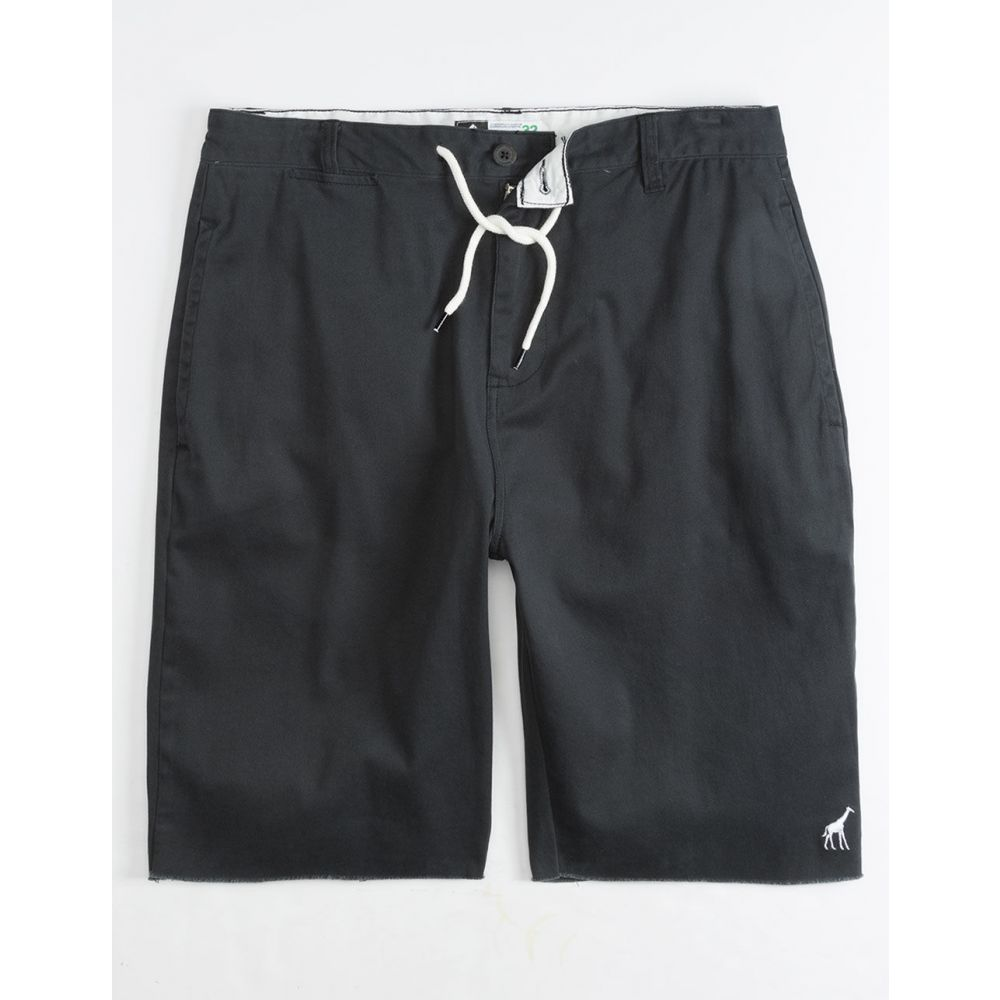 LRG メンズ ボトムス・パンツ ショートパンツ【Choppa Khaki Shorts】BLACK