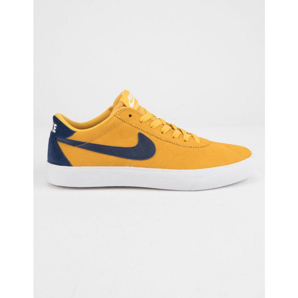 ナイキ NIKE SB メンズ シューズ・靴 スニーカー【Bruin Low Yellow Ochre & Blue Void Shoes】YELLOW/BLUE