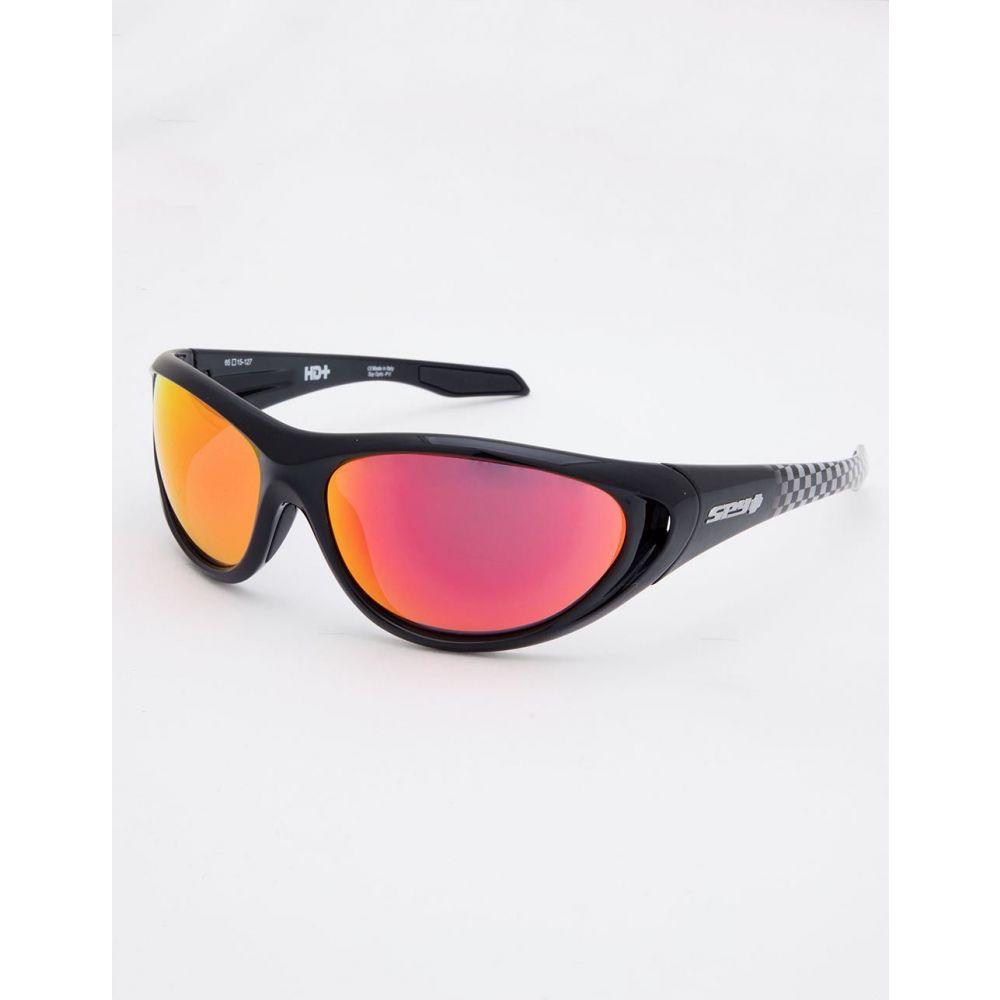 スパイ SPY メンズ メガネ・サングラス【Scoop 2 Black & Checker Fade Sunglasses】BLACK/CHECKER FADE