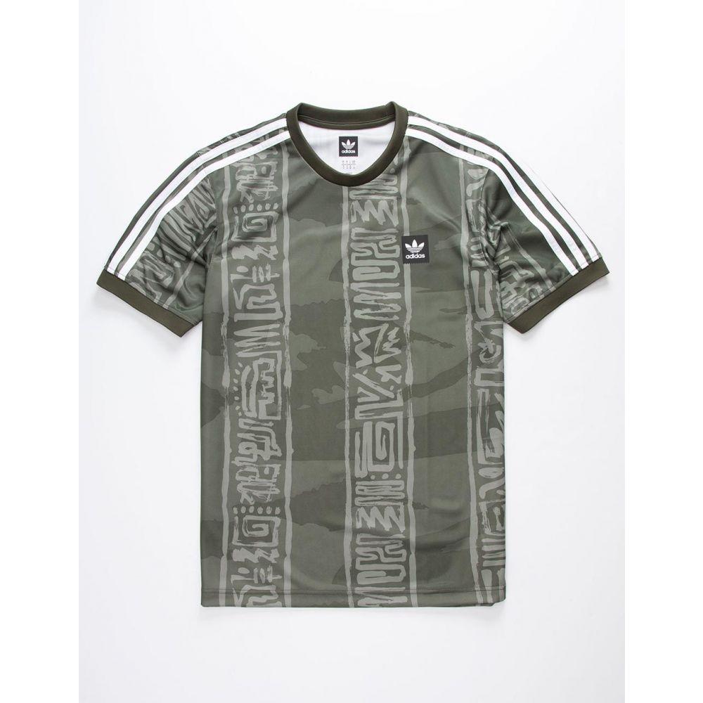 アディダス ADIDAS メンズ トップス【Dakari Jersey T-Shirt】KHAKI