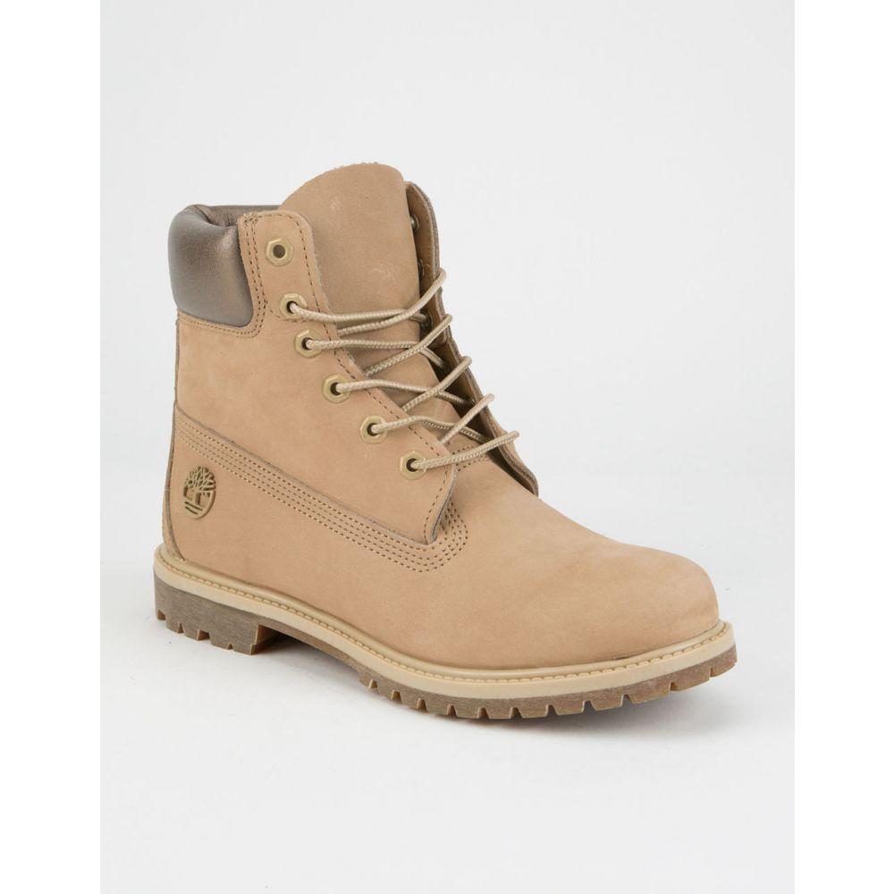 ティンバーランド TIMBERLAND レディース シューズ・靴 ブーツ【6' Premium Boots】NATUR