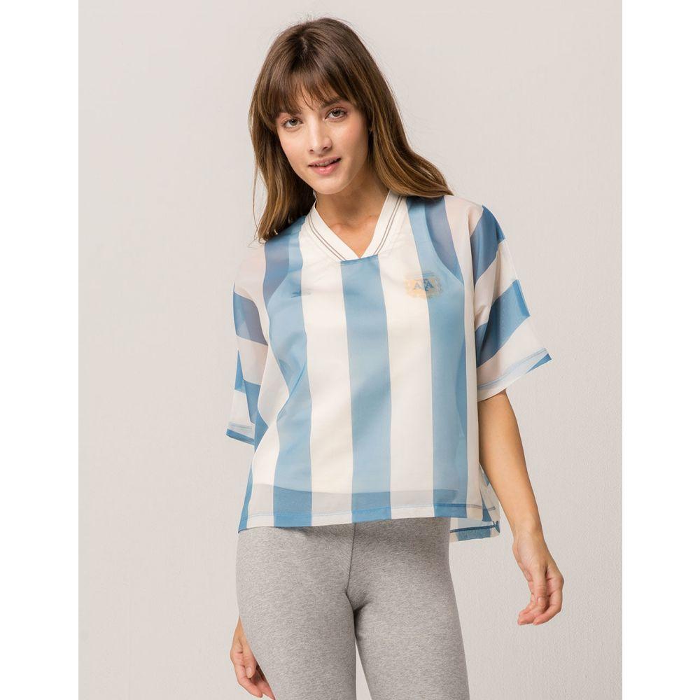 アディダス ADIDAS レディース トップス Tシャツ【Originals Argentina Layer Tee】MULTI
