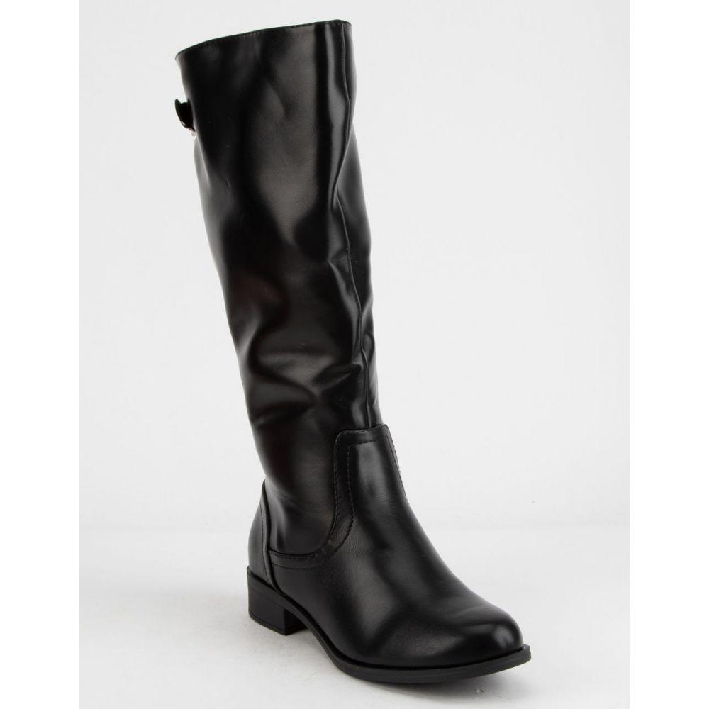 ソーダ SODA レディース シューズ・靴 ブーツ【Court Riding Boots】BLACK