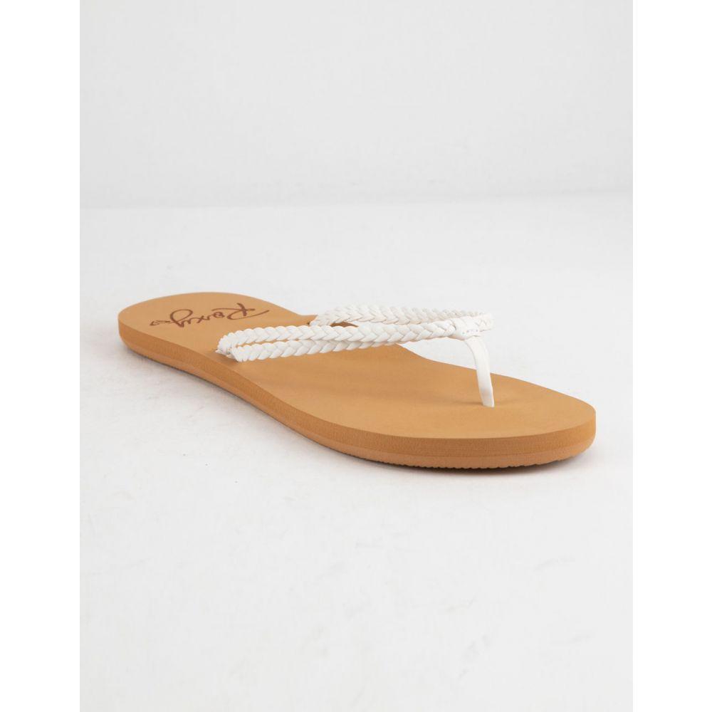 ロキシー ROXY レディース シューズ・靴 ビーチサンダル【Costas Black Sandals】WHITE