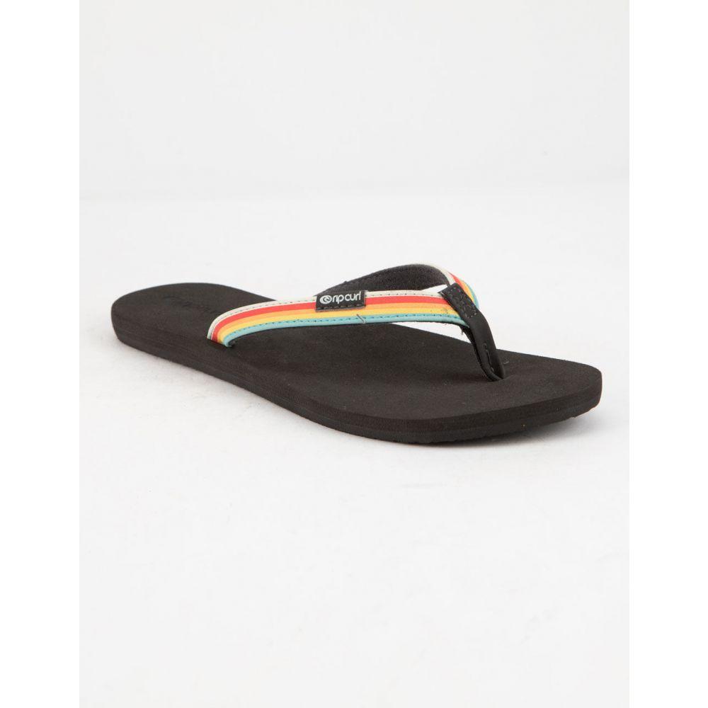 リップカール RIP CURL レディース シューズ・靴 ビーチサンダル【Freedom Black Sandals】BLACK
