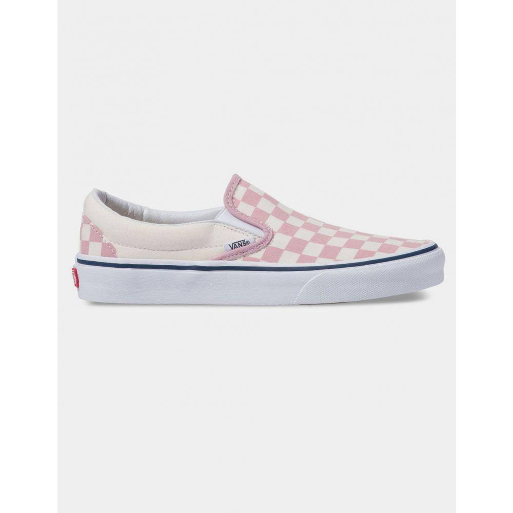 ヴァンズ VANS メンズ シューズ・靴 スリッポン・フラット【Checkerboard Classic Slip-On Zephyr Pink Shoes】ZEPHYR PINK