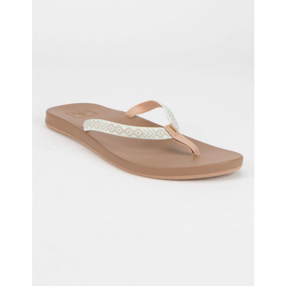 リーフ REEF レディース シューズ・靴 ビーチサンダル【Cushion Bounce Woven Sand Sandals】SAND