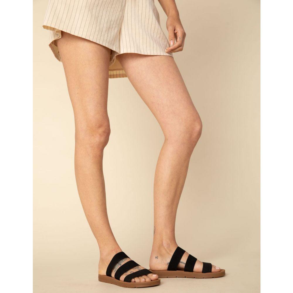 スティーブ マデン STEVE MADDEN レディース シューズ・靴 サンダル・ミュール【Pascale Blush Sandals】BLACK