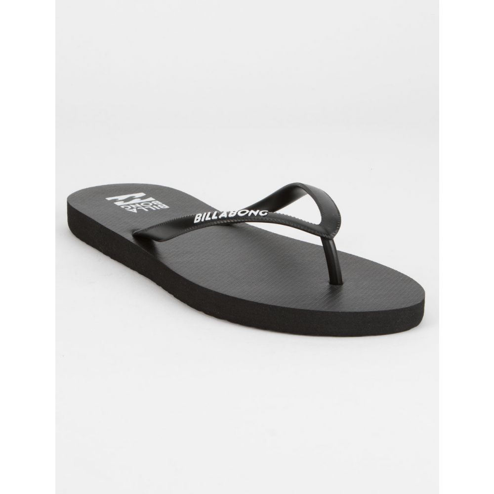 ビラボン BILLABONG レディース シューズ・靴 ビーチサンダル【Dama Black & White Sandals】BLACK/WHITE