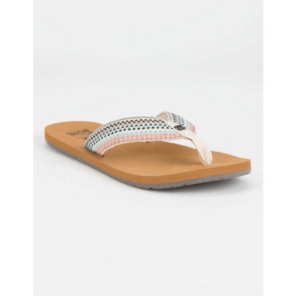 ビラボン BILLABONG レディース シューズ・靴 ビーチサンダル【Baja Tan Sandals】MULTI