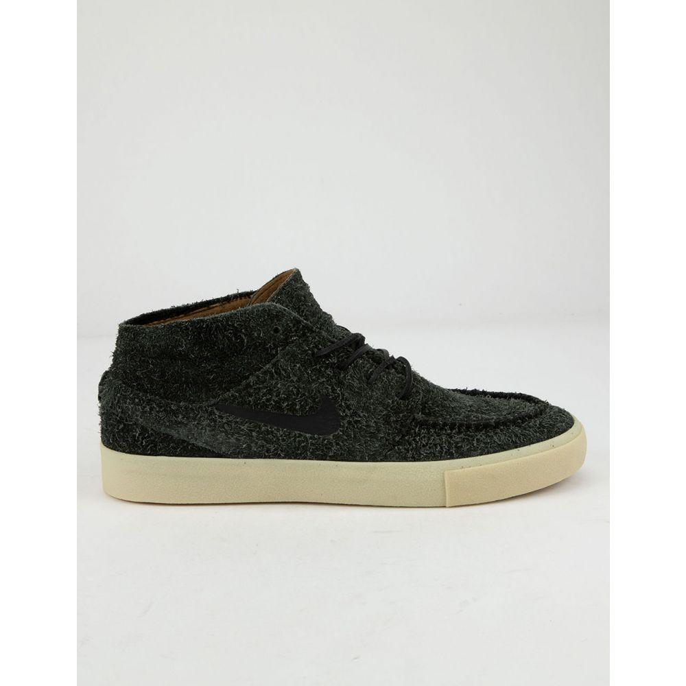 ナイキ NIKE SB メンズ スニーカー シューズ・靴【Zoom Janoski Mid Crafted Black & Gold Beige Shoes】BLACK/GOLD BEIGE