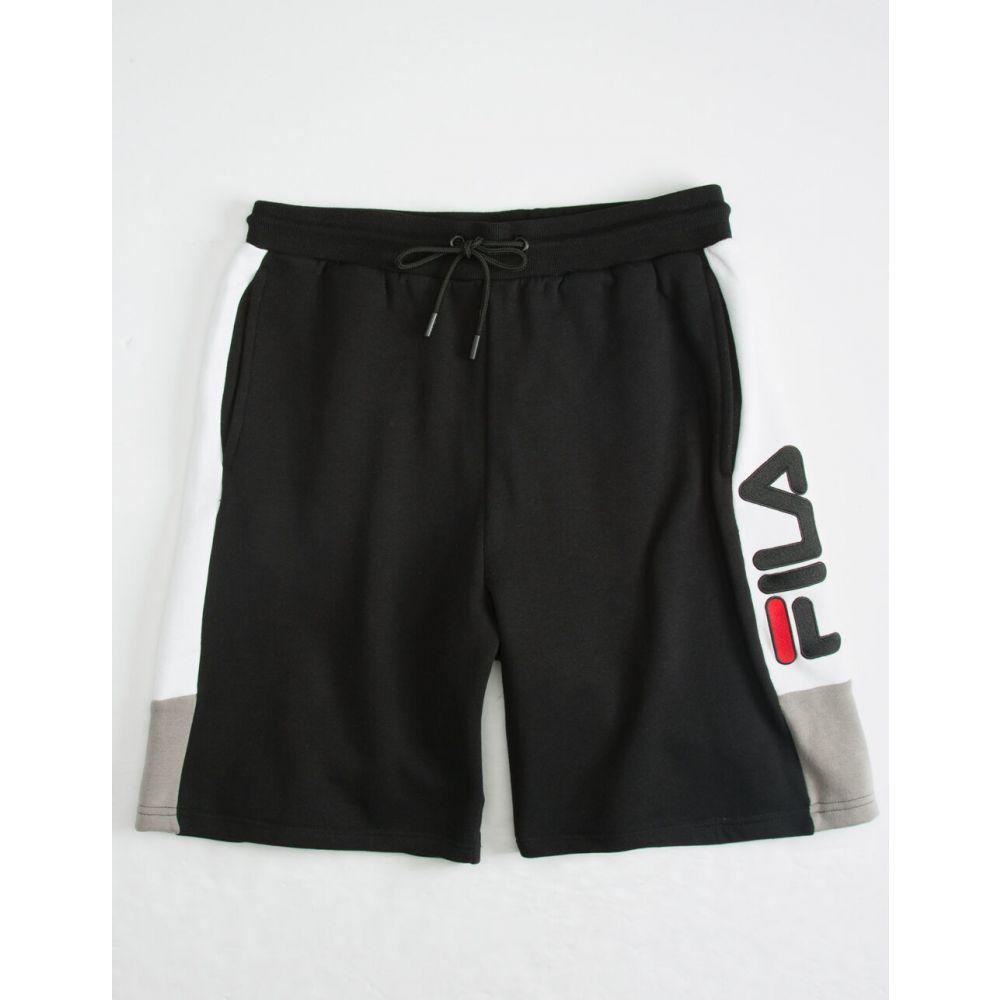 フィラ FILA メンズ ショートパンツ ボトムス・パンツ【Roy Sweat Shorts】BLACK