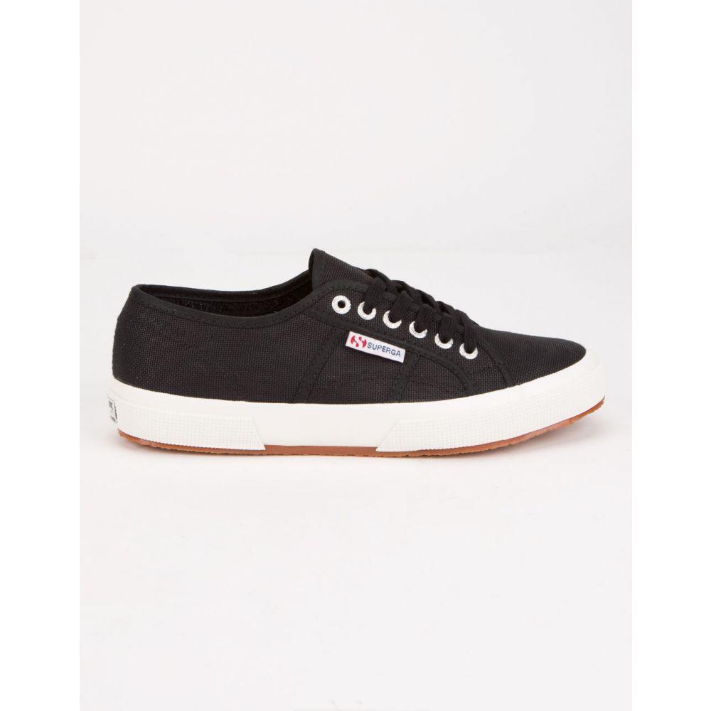 スペルガ SUPERGA レディース スニーカー シューズ・靴【2750 Cotu Classic White Shoes】BLACK/WHITE