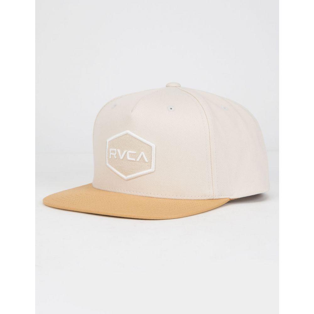 【Commonwealth Khaki Hat】 TAN 帽子 キャップ RVCA メンズ ルーカ