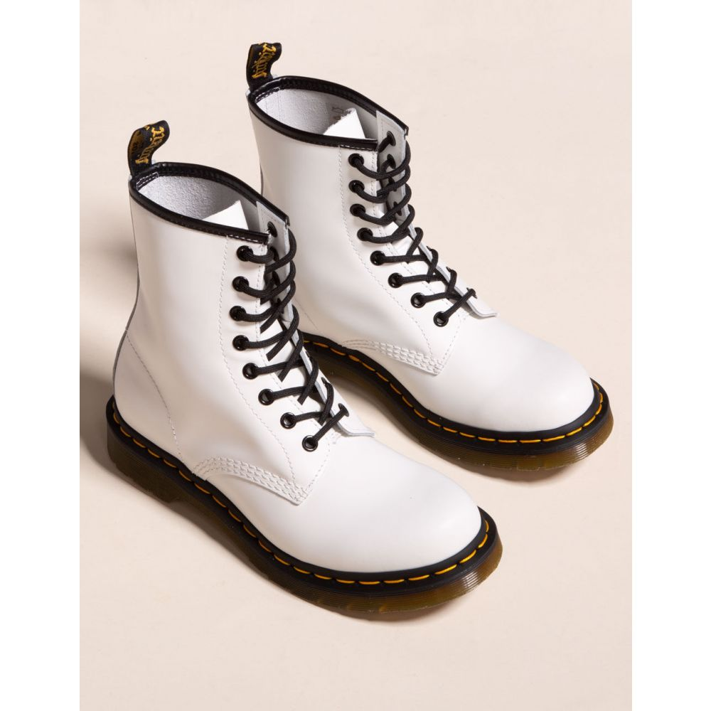 ドクターマーチン DR. MARTENS レディース ブーツ シューズ・靴【1460 White Boots】WHITE