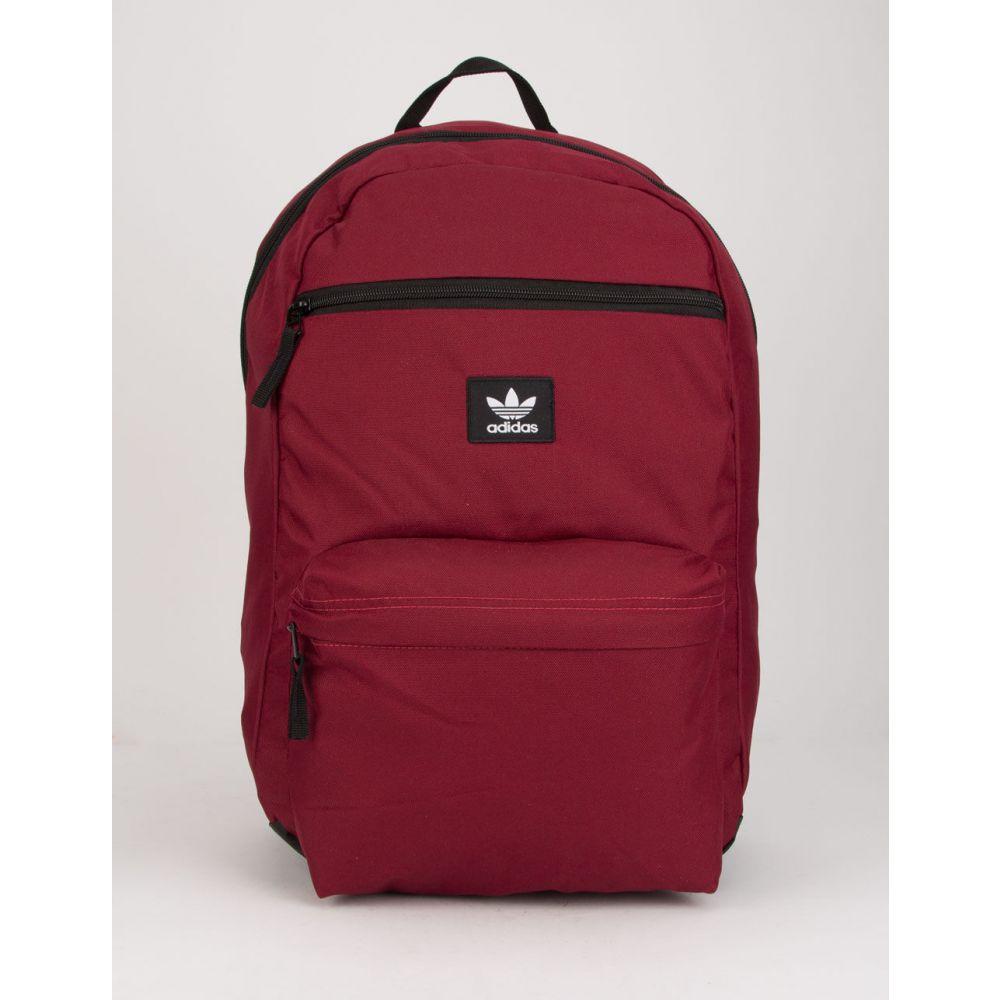 アディダス ADIDAS メンズ バックパック・リュック バッグ【Originals National Burgundy Backpack】BURGUNDY