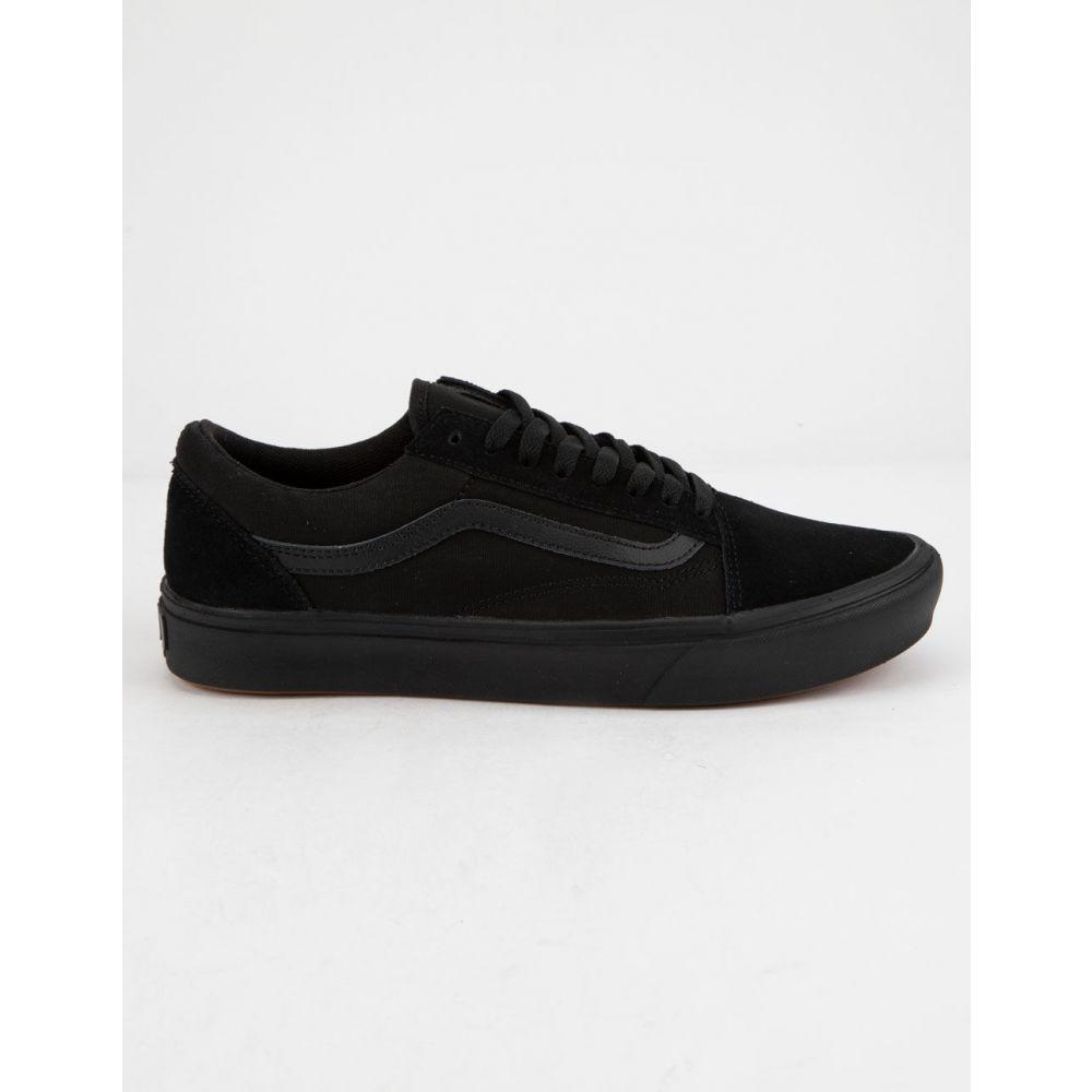 ヴァンズ VANS メンズ スニーカー シューズ・靴【ComfyCush Old Skool Black & Black Shoes】BLACK/BLACK