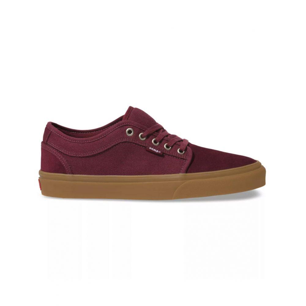 ヴァンズ VANS メンズ スニーカー チャッカブーツ シューズ・靴【Chukka Low Port Royale & Gum Shoes】BURGUNDY
