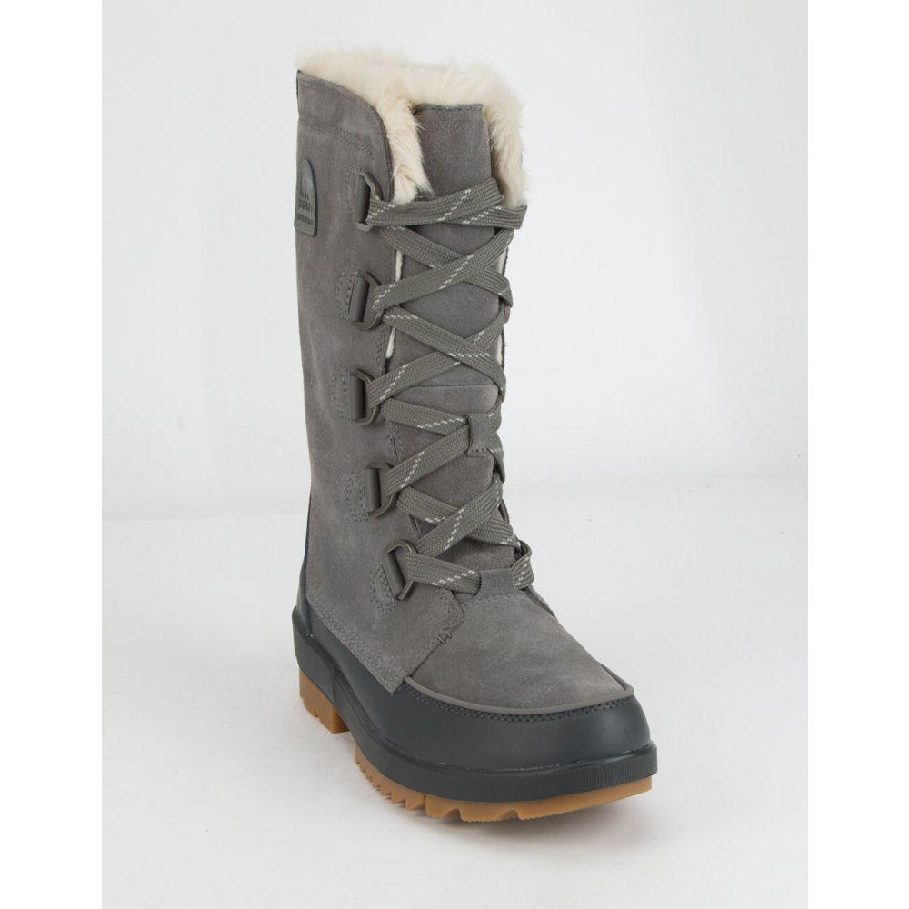 ソレル SOREL レディース ブーツ シューズ・靴【Tivoli IV Tall Boots】GRAY