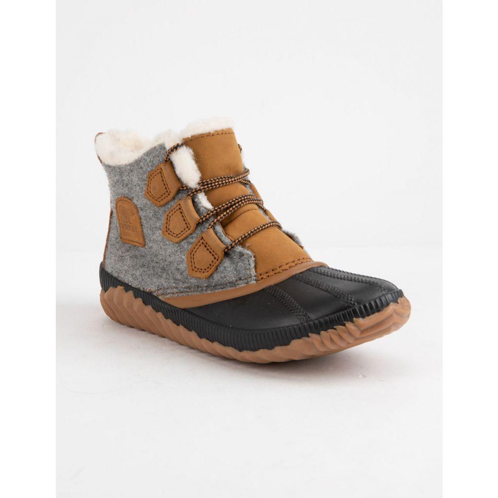 ソレル SOREL レディース ブーツ シューズ・靴【Out 'N About Plus Natural Tan Boots】QUARRY