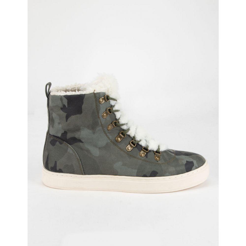 ビラボン BILLABONG レディース スニーカー シューズ・靴【Take A Hike Leopard Shoes】CAMO