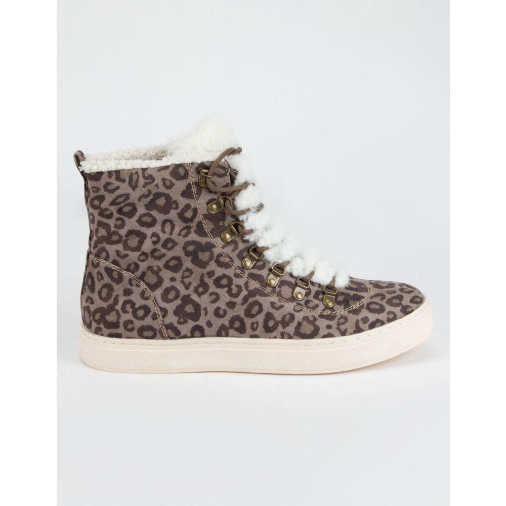 ビラボン BILLABONG レディース スニーカー シューズ・靴【Take A Hike Leopard Shoes】LEOPARD