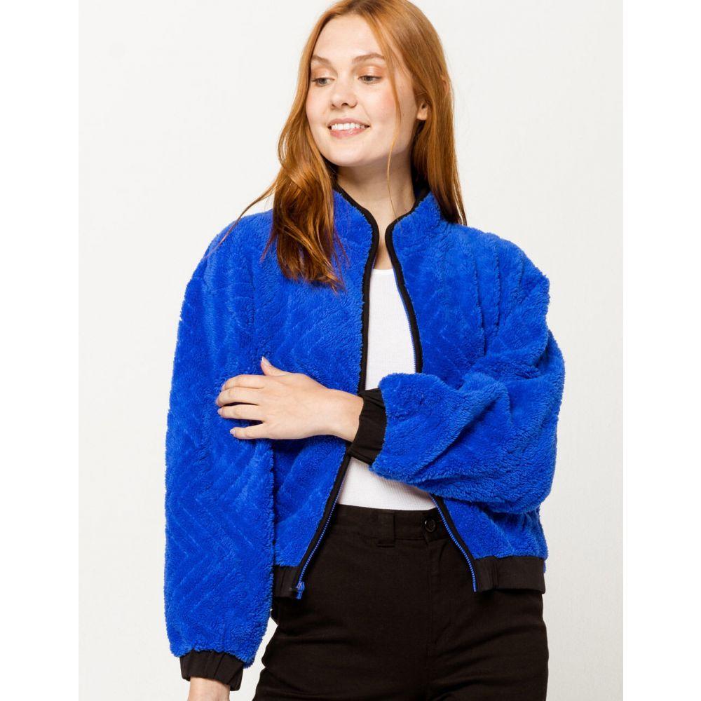 ハーレー HURLEY レディース ジャケット アウター【Sherpa Blue Jacket】BLUE