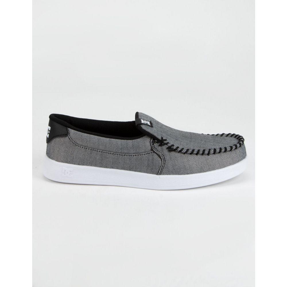 ディーシー DC SHOES メンズ スリッポン・フラット シューズ・靴【Villain 2 TX SE Slip-On Shoes】GRAY COMBO